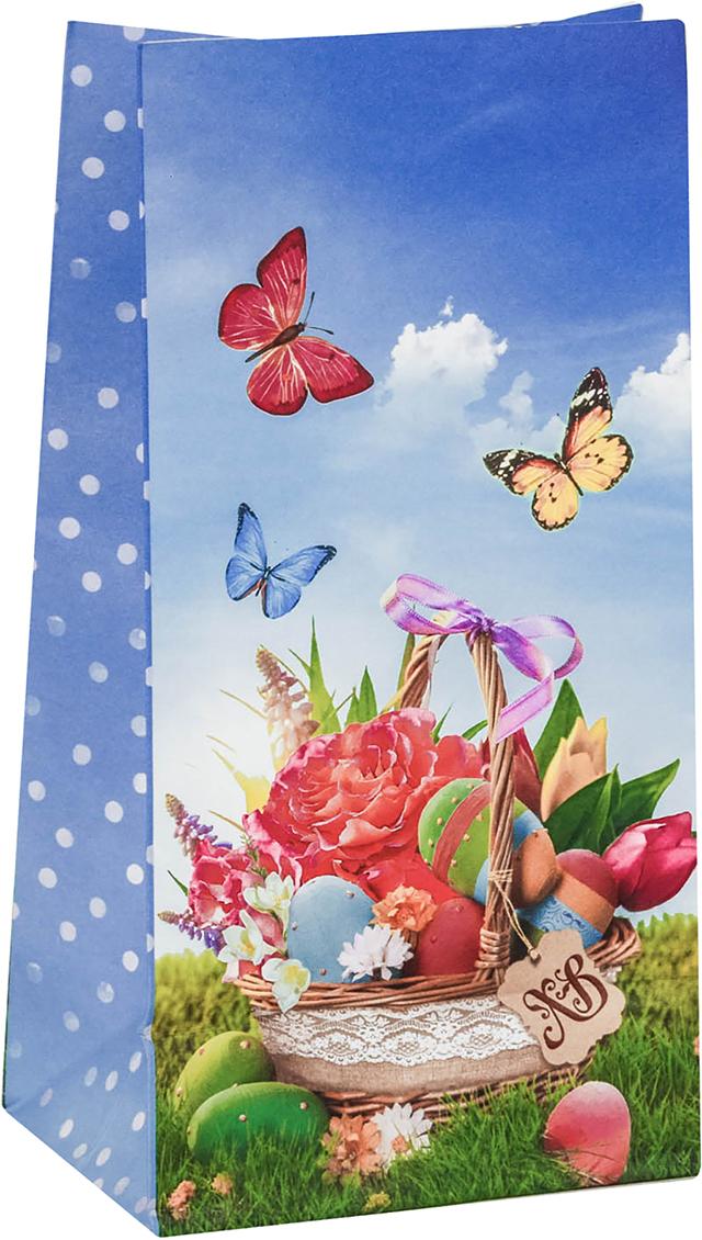 Пакет подарочный Дарите Счастье Пасхальные угощения, цвет: мультиколор, 12 х 7 х 19 см. 2678803 пакет подарочный дарите счастье пасхальные угощения цвет мультиколор 12 х 7 х 19 см 2678803