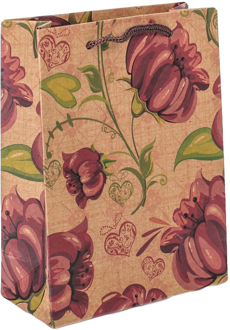 Пакет подарочный Яркий цветок, 11 х 5,5 х 14,5 см. 2687174 пакет подарочный яркий цветок цвет мультиколор 11 х 5 5 х 14 5 см 2687174