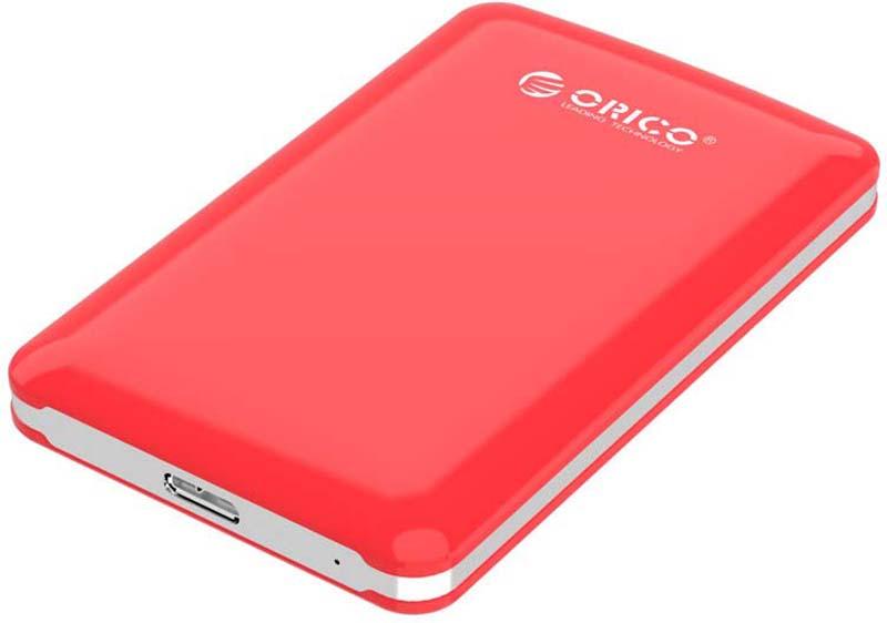 Orico 2579S3 Red, контейнер для HDD внешний контейнер для hdd orico 2579s3 rd красный 2 5 usb 3 0 sata iii