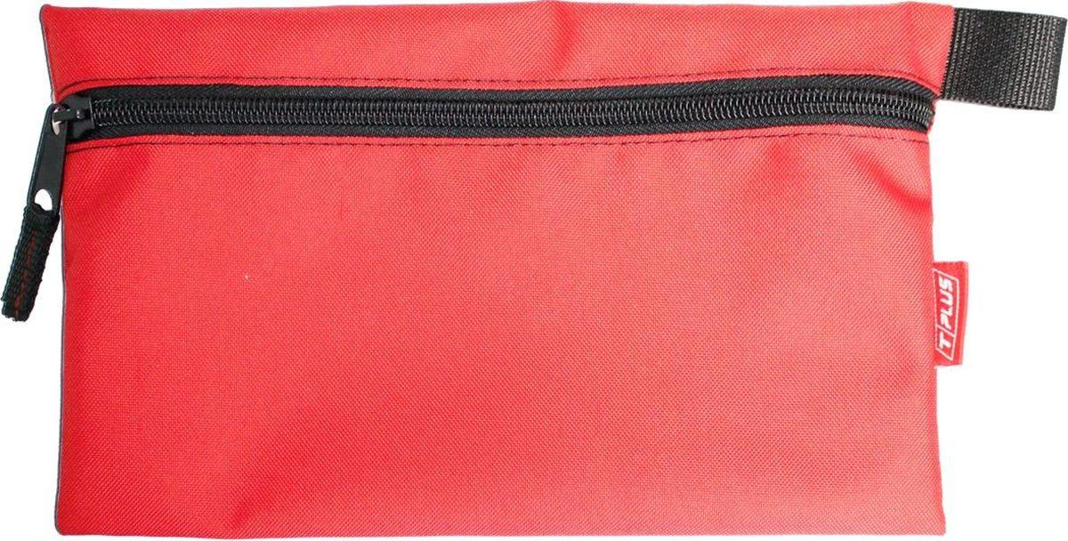 "Футляр для хранения ""Tplus"", Oxford 600, цвет: красный, 16 x 26 см"