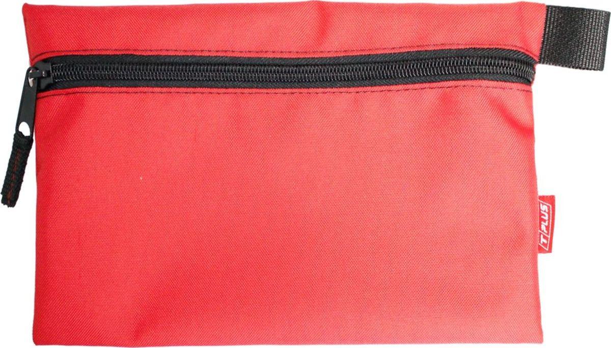 Футляр для хранения Tplus, Oxford 600, цвет: красный, 19 x 29 см сумка для такелажной оснастки tplus сompact t009375