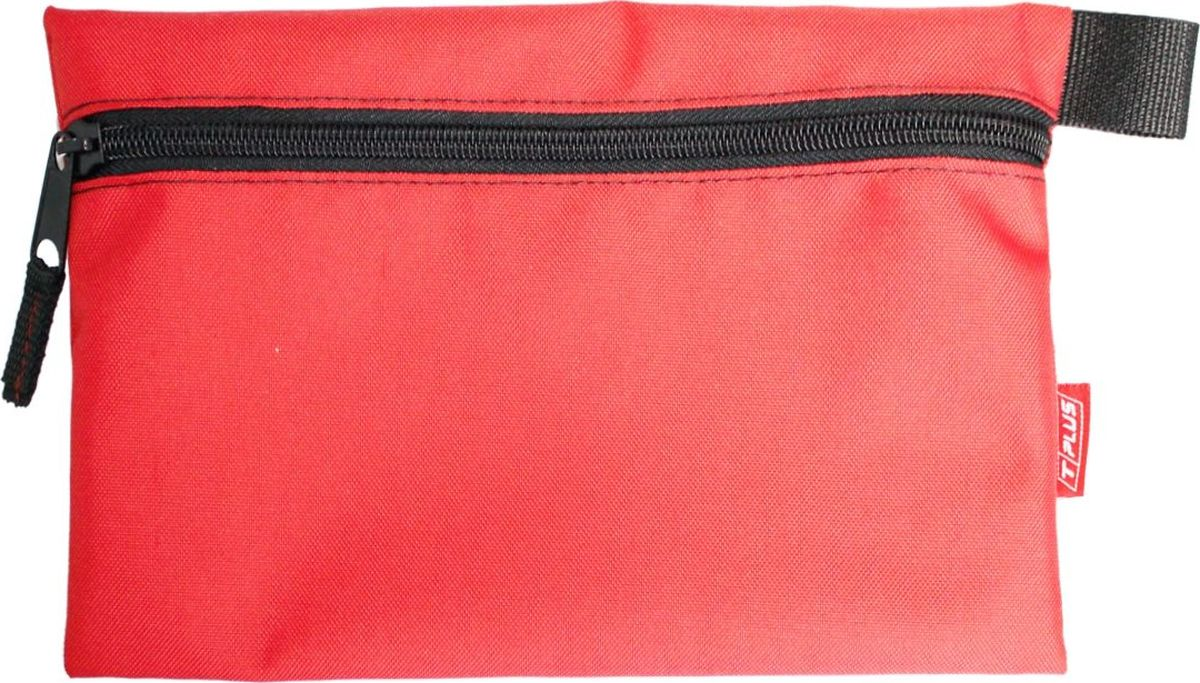 "Футляр для хранения ""Tplus"", Oxford 600, цвет: красный, 19 x 29 см"