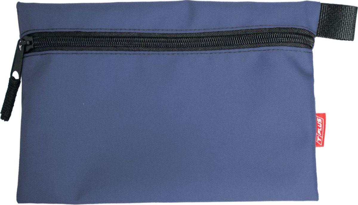"""Футляр для хранения """"Tplus"""", Oxford 600, цвет: синий, 19 x 29 см"""