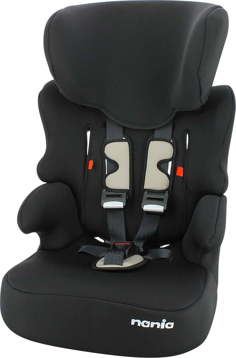 Автокресло Nania Beline SP Eco от 9 до 36 кг, 298004, black автокресло nania beline sp fst pop blue 295608