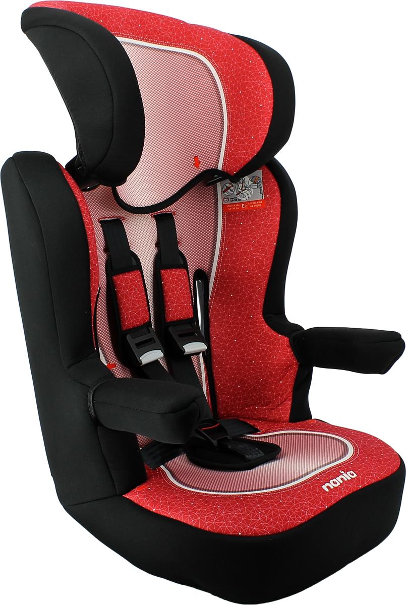 Автокресло Nania Imax SP от 9 до 36 кг, 909091, красный цены онлайн