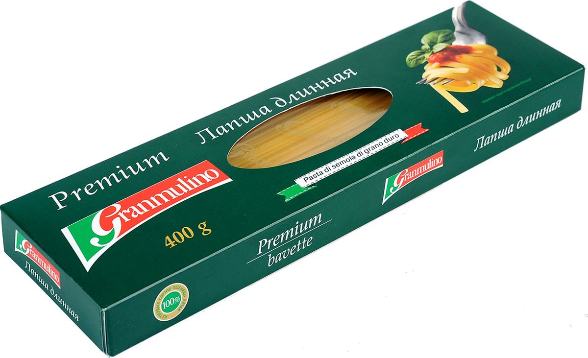 Granmulino-Premium лапша узкая длинная, 400 г