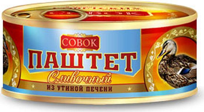 Совок Паштет из утиной печени, 190 г