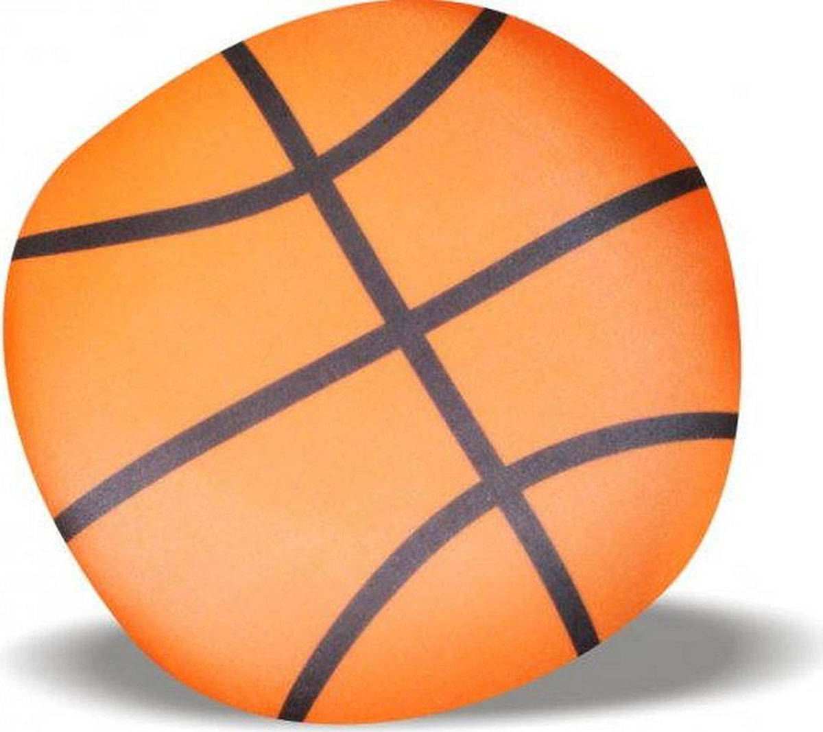 Подушка-игрушка Штучки, к которым тянутся ручки антистресс Мяч, баскетбольный, оранжевый