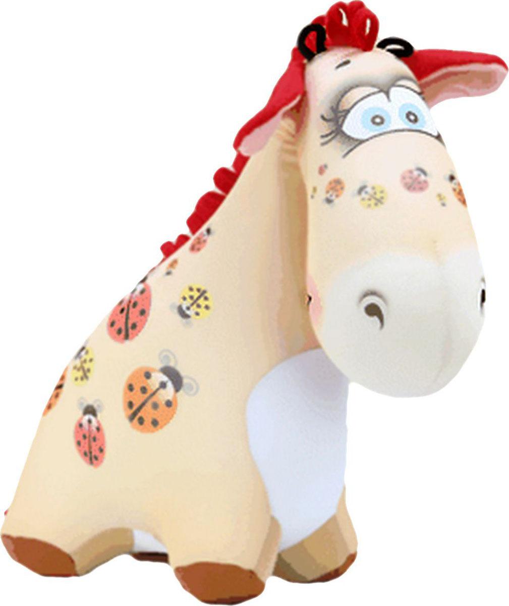 Подушка-игрушка Штучки, к которым тянутся ручки антистрессовая Жираф Жужа, бежевый