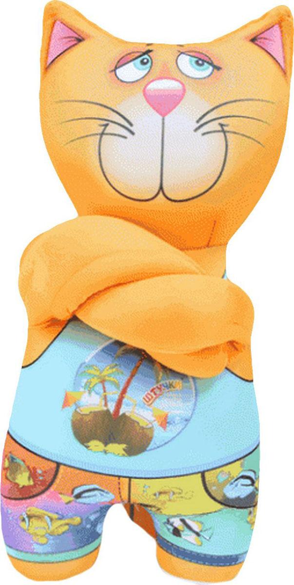 """Подушка-игрушка Штучки, к которым тянутся ручки Игрушка антистресс """"Деловые коты"""". 14аси45ив-2"""
