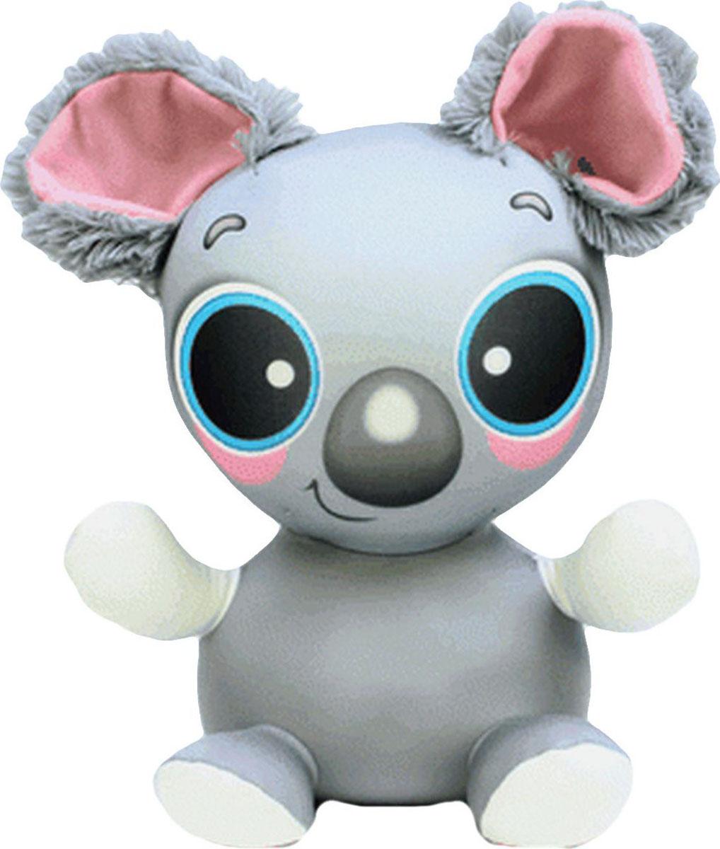 Подушка-игрушка антистрессовая Анимашки. Мышонок, серый