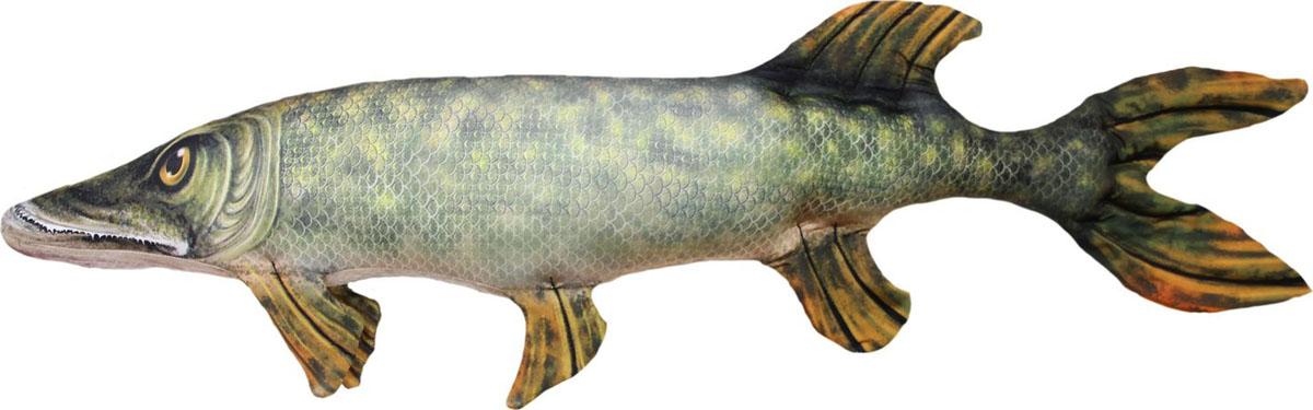 Фото - Подушка-игрушка Штучки, к которым тянутся ручки Антистрессовая Рыба Щука гигант игрушка подушка игрушка щука большая 93 10 12см