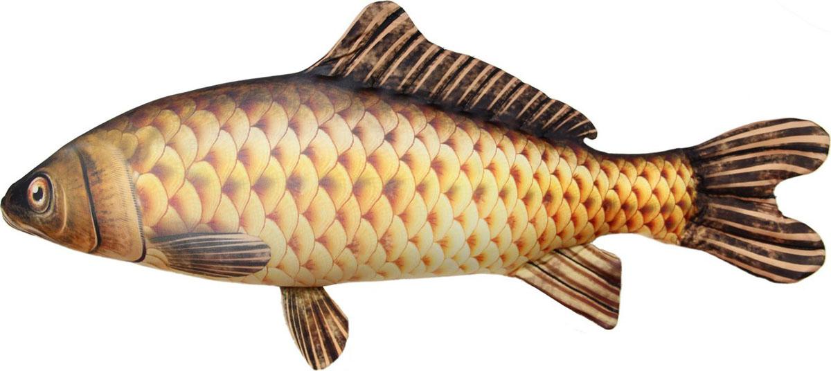 Фото - Подушка-игрушка Штучки, к которым тянутся ручки Антистрессовая Рыба Сазан большая игрушка подушка игрушка щука большая 93 10 12см