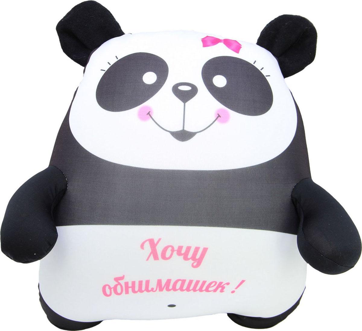 """Подушка-игрушка антистрессовая Штучки, к которым тянутся ручки """"Панда"""". 15асп42ив-1"""
