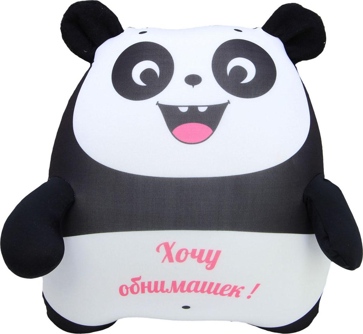 """Подушка-игрушка антистрессовая Штучки, к которым тянутся ручки """"Панда"""". 15асп42ив-5"""