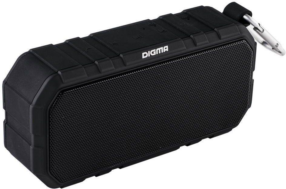 Беспроводная колонка Digma S-40, Black цена и фото