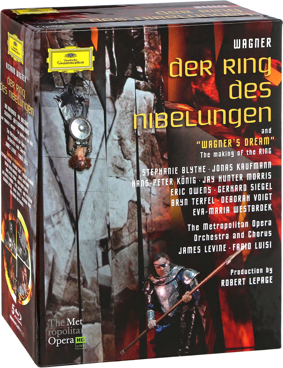 Metropolitan Opera Orchestra Metropolitan Opera Orchestra. Wagner: Der Ring Des Nibelungen And Wagner`s Dream (5 Blu-Ray Audio) origin metropolitan 345710