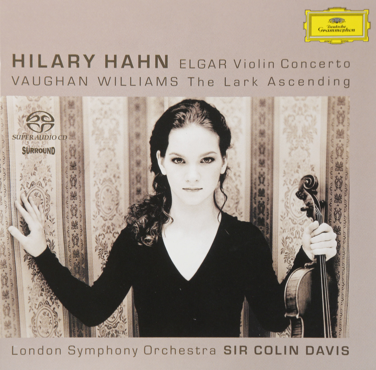 цена на Хилари Хан,The London Symphony Orchestra,Колин Дэвис Hilary Hahn, London Symphony Orchestra, Sir Colin Davis. Elgar: Violin Concerto, Vaughan Williams: The Lark Ascending