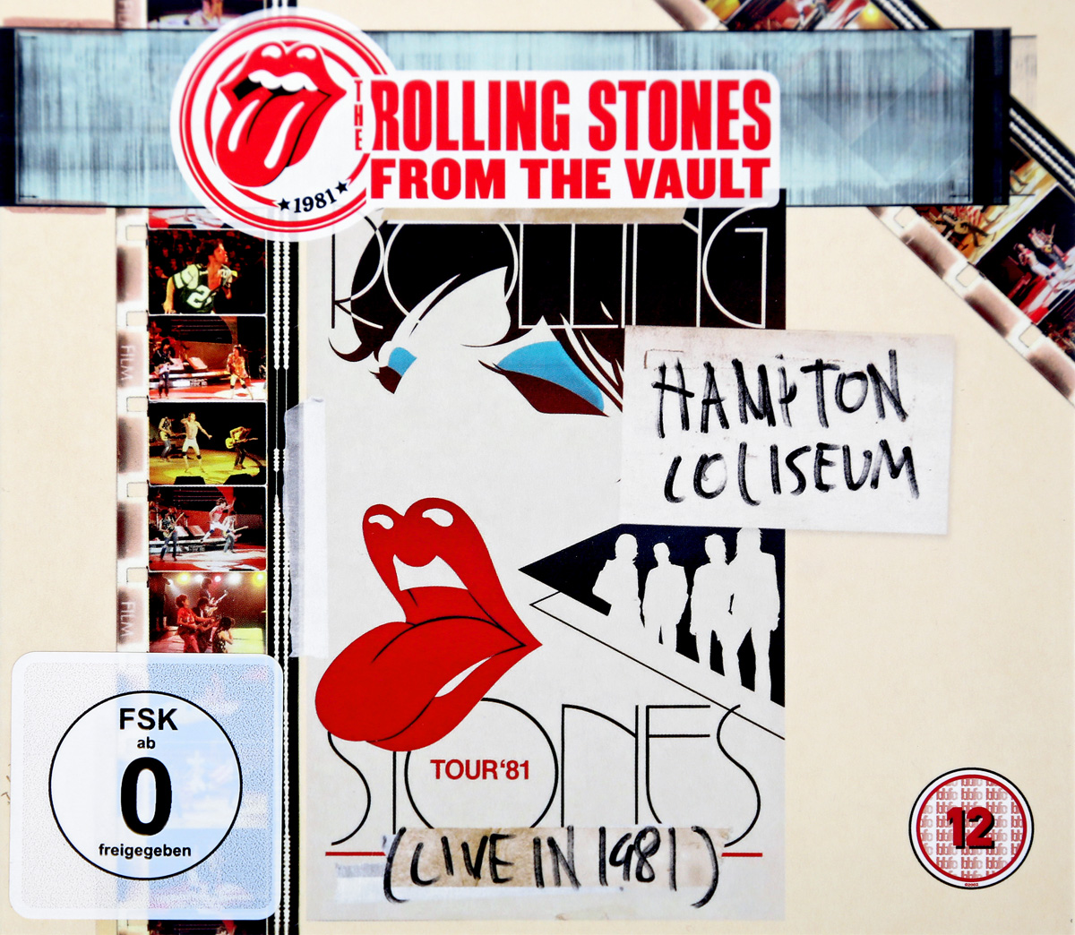 The Rolling Stones The Rolling Stones. From The Vault Hampton Coliseum (Live In 1981) (2 CD + DVD) rolling stones the from the vault live in leeds 1982 dvd 2 cd