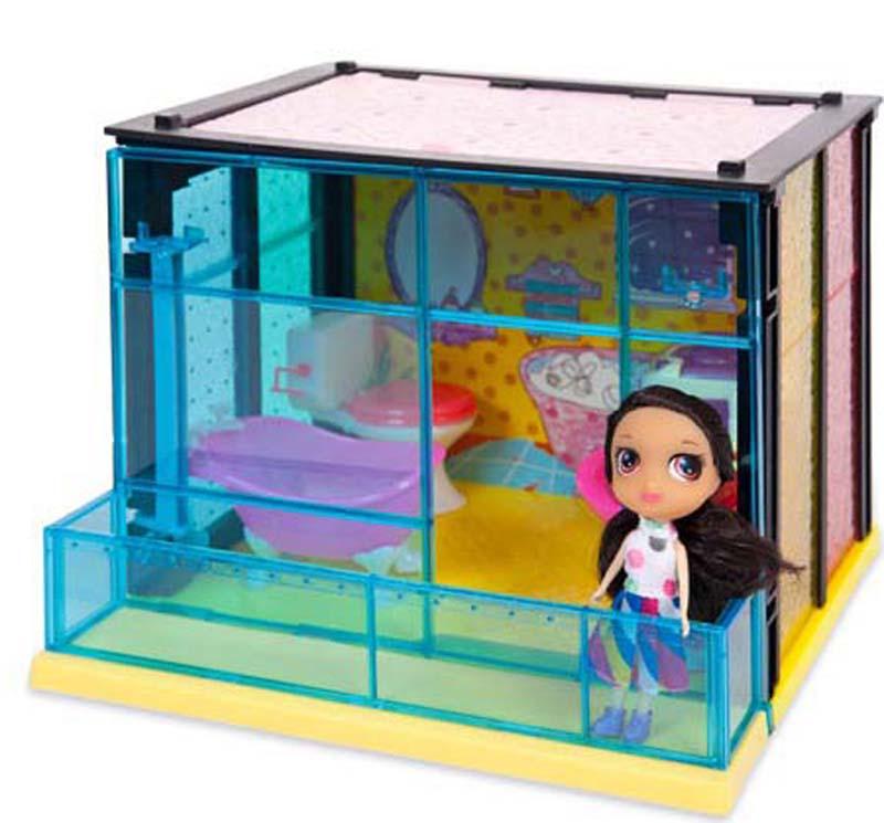 ABtoys Игровой набор с куклой Модный дом Ванная комната 35 деталей