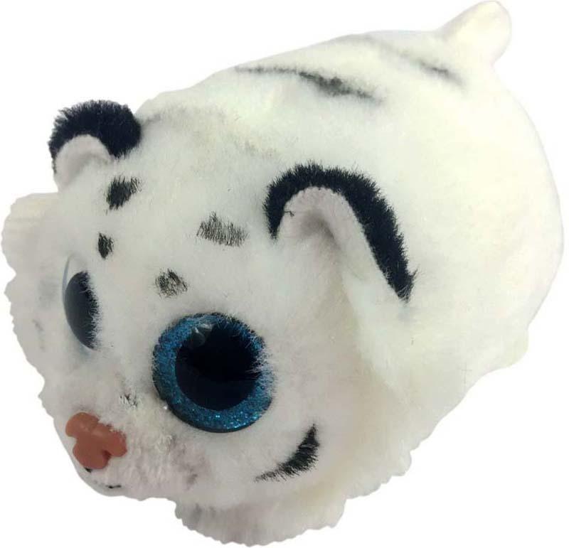 ABtoys Мягкая игрушка Тигренок цвет белый 10 см109310Замечательная мягкая игрушка от ABtoys станет самым лучшим другом вашему малышу. Особенность игрушки в том, что она понравится как мальчикам, так и девочкам. Прекрасные игрушки с невероятно добрыми искренними глазками еще никого не оставляли равнодушным! У них большие и проникновенные глаза, которые созданы из качественной пластиковой фурнитуры с блестками внутри. Каждая игрушка сшита очень аккуратно, при ее создании применяются исключительно высококачественные материалы.