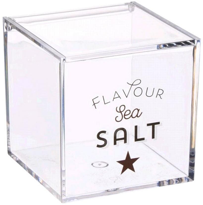 Банка для соли D'Casa Bistro, прозрачный