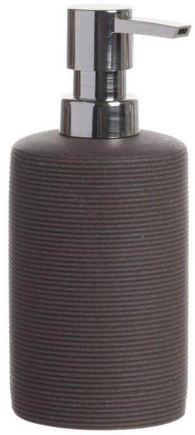 Дозатор для жидкого мыла D'Casa Arena, цвет: темно-коричневый, 350 мл. 268449 дозатор для жидкого мыла arena бежевый