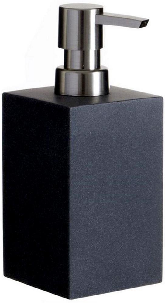 Дозатор для жидкого мыла D'Casa Arena, цвет: темно-серый, 350 мл дозатор для жидкого мыла king tower цвет серый 12349