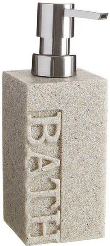 Дозатор для жидкого мыла D'Casa Arena Bath, цвет: бежевый, 250 мл дозатор для жидкого мыла arena бежевый