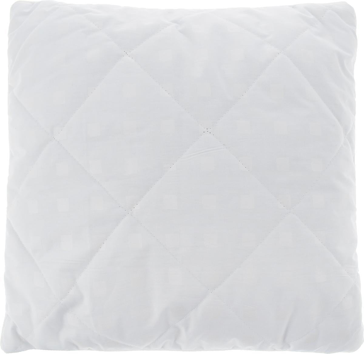 Подушка Bio-Teхtiles Очарование, наполнитель: искусственный лебяжий пух, цвет: белый, 40 х 40 см подушка bio textiles полезный сон наполнитель лебяжий пух цвет бежевый 50 х 70 см psl737