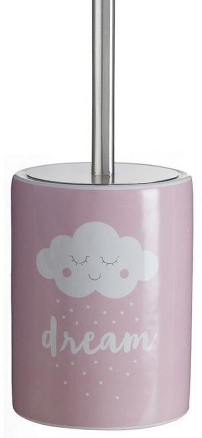 Ершик для туалета D'Casa Nube, цвет: розовый ершик для туалета home queen с подставкой цвет розовый