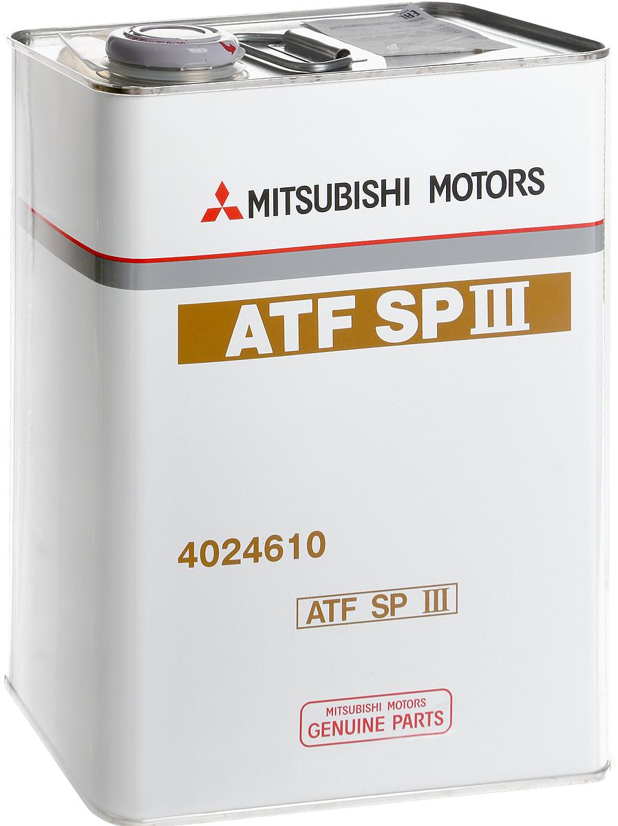 "Масло трансмиссионное Mitsubishi ""ATF SP III"", 4 л"