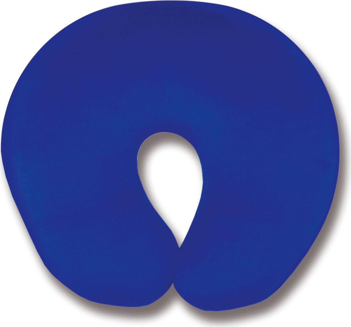 Подушка для шеи Штучки, к которым тянутся ручкиТурист, цвет: синий, 30 х 27 см подушка антистрессовая штучки к которым тянутся ручки ассорти цвет сиреневый 30 х 27 см