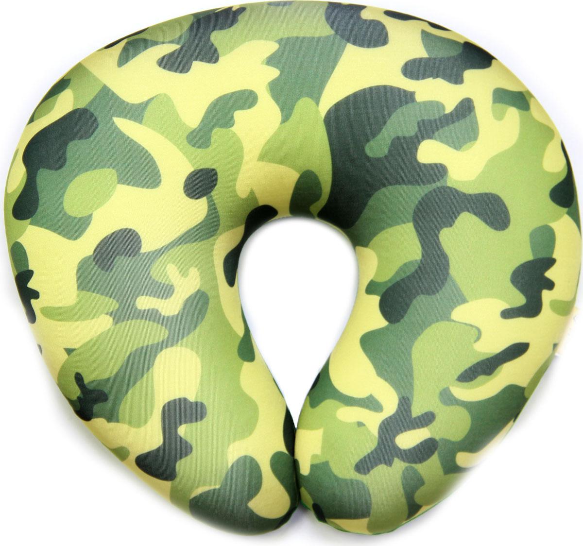 Подушка-антистресс для шеи Армейский, 30 х 27 см. 16асп32ив-1 подушка антистресс для шеи армейский 30 х 27 см 16асп32ив 1