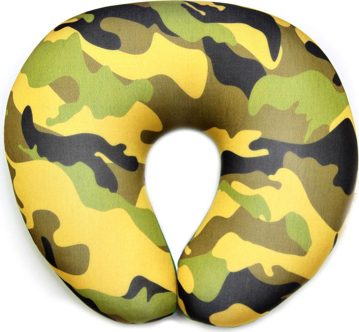 Подушка-антистресс для шеи Армейский, 30 х 27 см. 16асп32ив-3