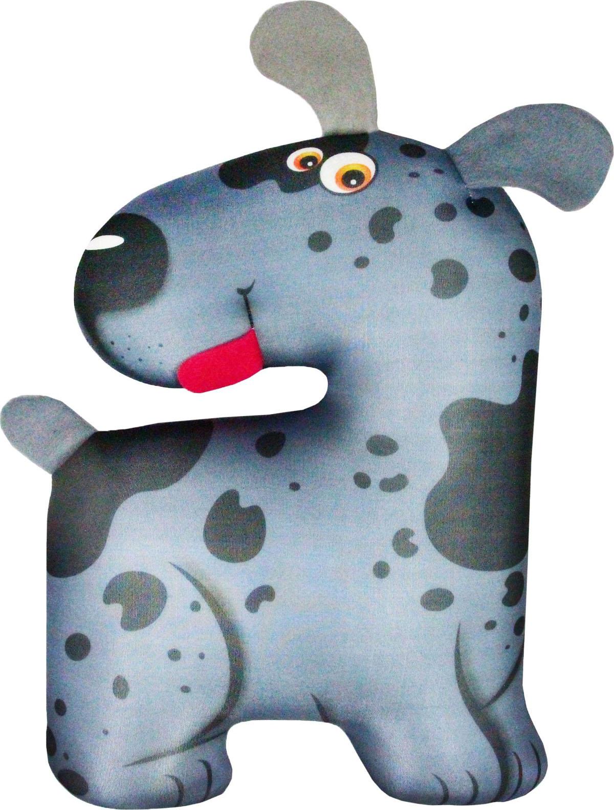 Подушка для шеи Штучки, к которым тянутся ручки Антистрессовая игрушка-турист Пятнышко, темно-серый штучки к которым тянутся ручки подушка игрушка антистрессовая царевна лягушка