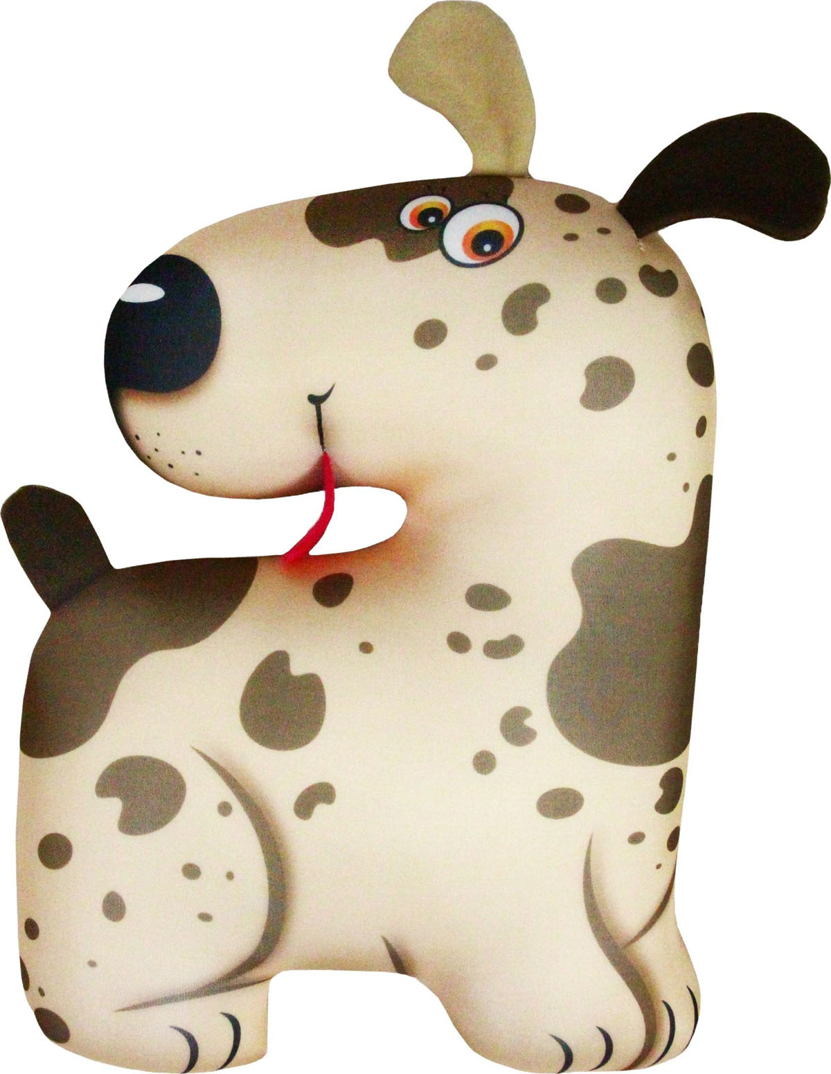 Подушка для шеи Штучки, к которым тянутся ручки Антистрессовая игрушка-турист Пятнышко, бежевый штучки к которым тянутся ручки подушка игрушка антистрессовая царевна лягушка