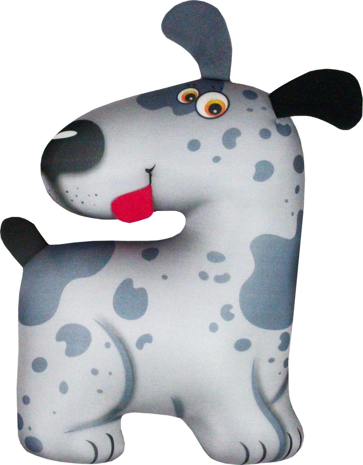 Подушка для шеи Антистрессовая игрушка-турист Пятнышко, светло-серый наконечник уют d20 2шт глобо бронза ост