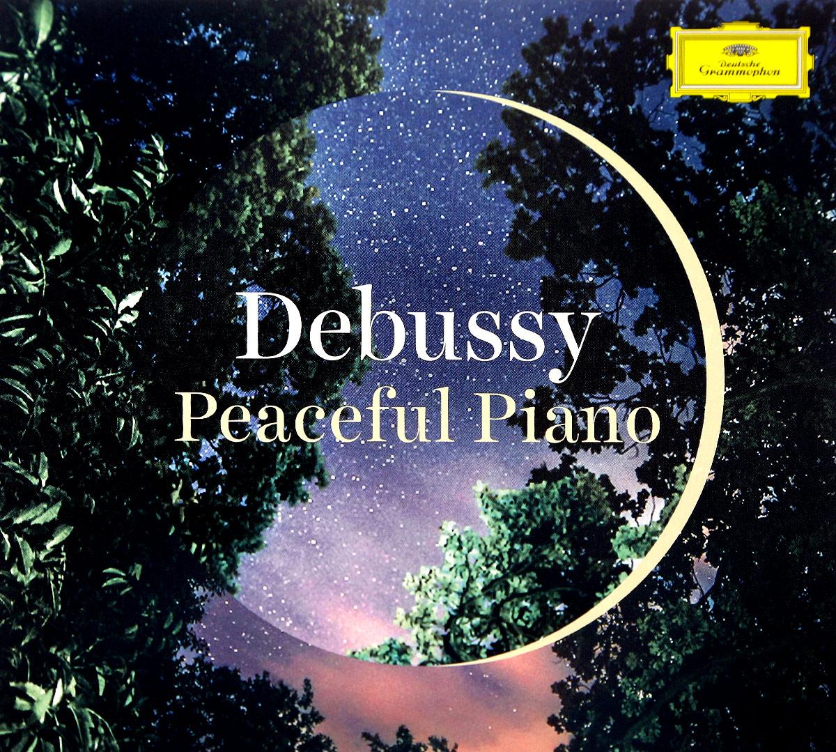 Various Artists. Debussy: Peaceful Piano (2 CD) various artists romantic piano adagios 2 cd