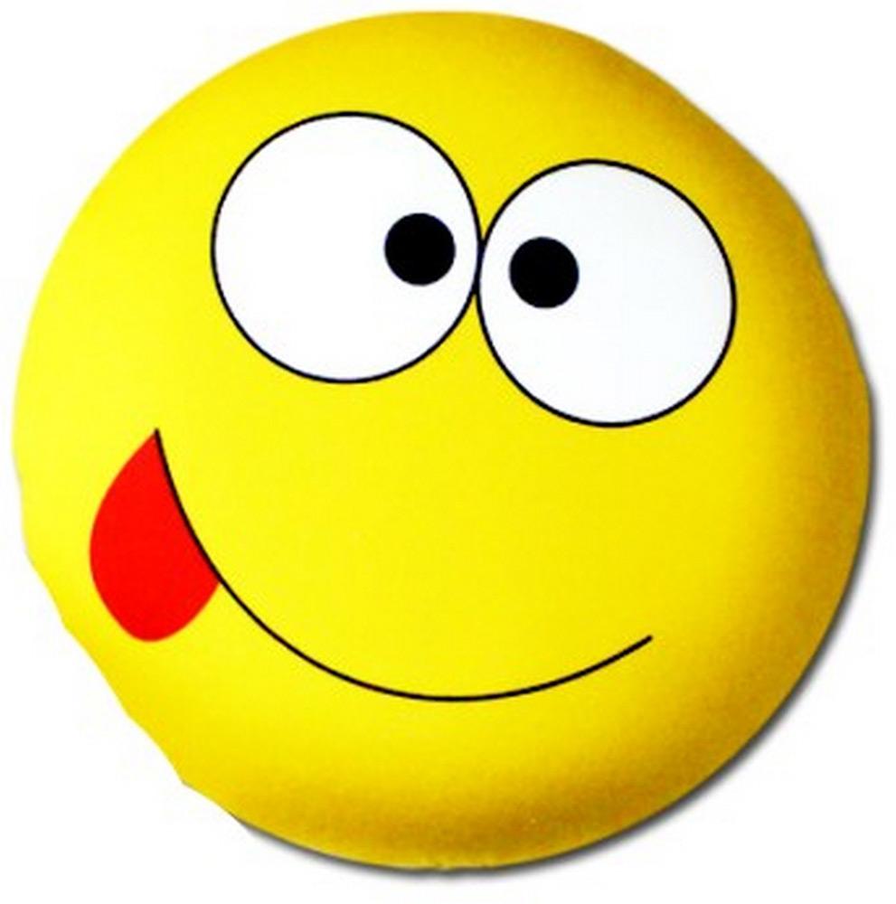Подушка антистрессовая Штучки, к которым тянутся ручки Смайл-мордочки, цвет: желтый, 31 x 31 см подушка антистрессовая штучки к которым тянутся ручки смайл мордочки цвет оранжевый 31 x 31 см