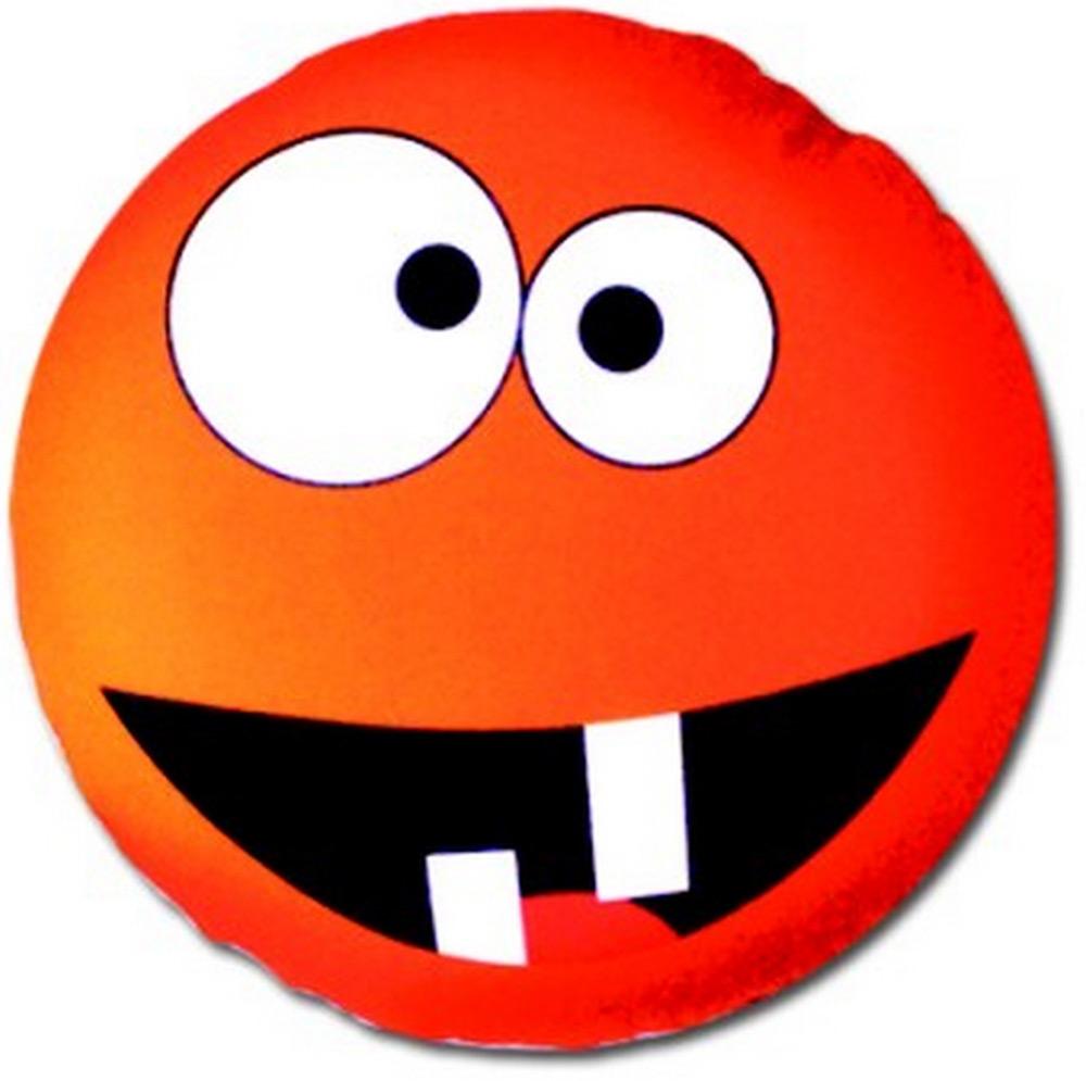 Подушка антистрессовая Штучки, к которым тянутся ручки Смайл-мордочки, цвет: оранжевый, 31 x 31 см подушка антистрессовая штучки к которым тянутся ручки смайл мордочки цвет оранжевый 31 x 31 см