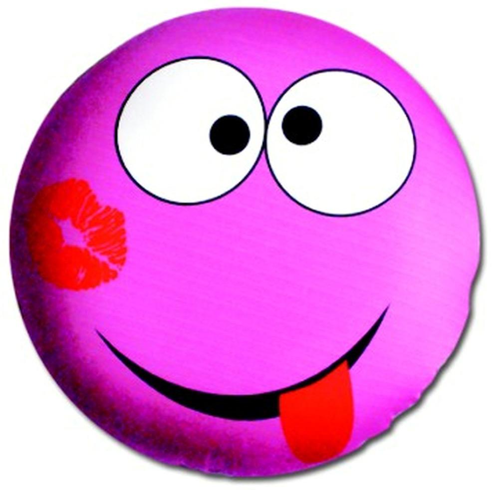 Подушка антистрессовая Штучки, к которым тянутся ручки Смайл-мордочки, цвет: розовый, 31 x 31 см подушка антистрессовая штучки к которым тянутся ручки смайл мордочки цвет оранжевый 31 x 31 см