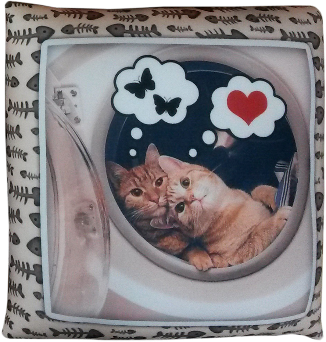Подушка декоративная Штучки, к которым тянутся ручки Антистрессовая Коты обнимашки антистрессовая подушка подкова 30 30