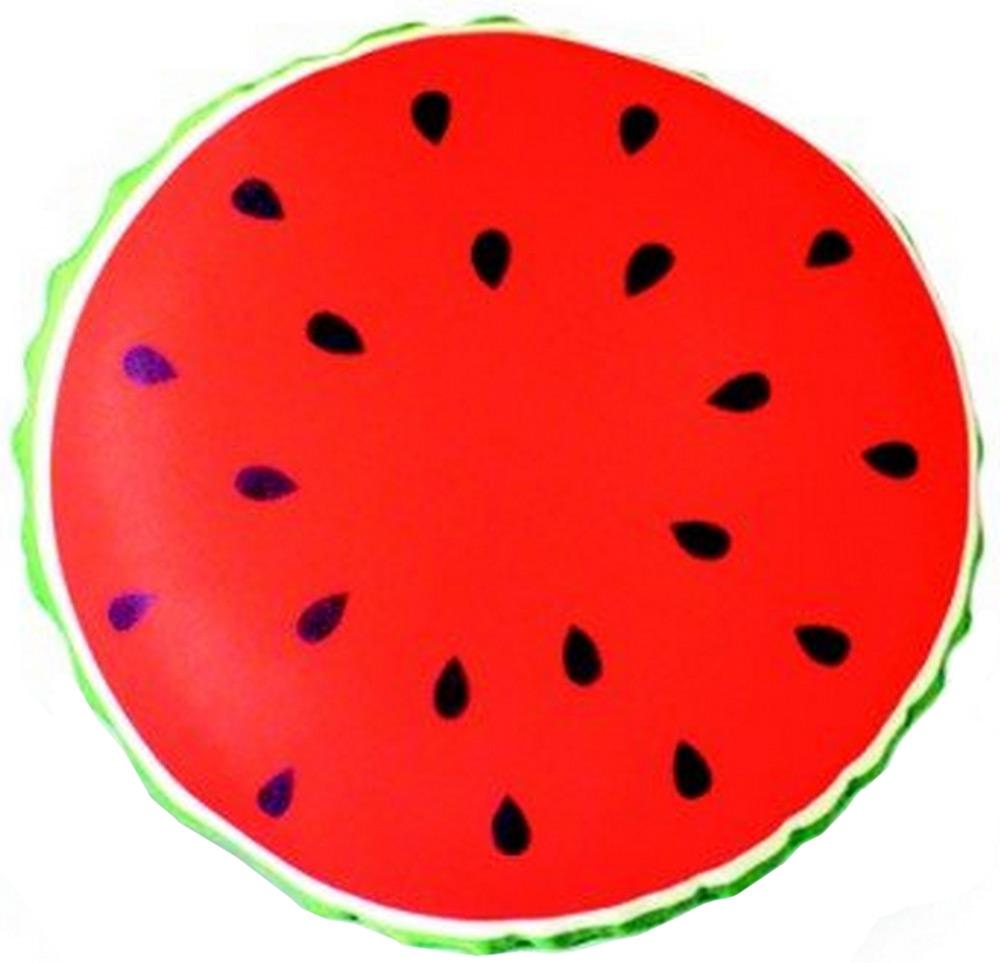 Подушка антистрессовая Штучки, к которым тянутся ручки Смайл-фрукты. Арбуз, цвет: красный, 31 x 31 см подушка антистрессовая штучки к которым тянутся ручки смайл мордочки цвет оранжевый 31 x 31 см