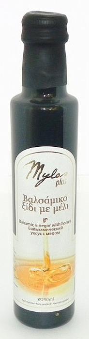 Mylos Plus Уксус Бальзамический с мёдом, 0,25 л