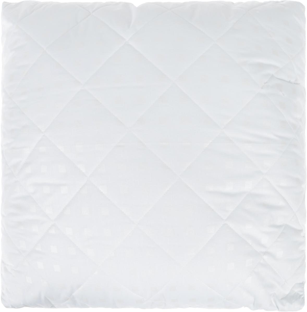 Подушка Bio-Teхtiles Очарование, наполнитель: искусственный лебяжий пух, цвет: белый, 70 х 70 см подушка bio textiles полезный сон наполнитель лебяжий пух цвет бежевый 50 х 70 см psl737