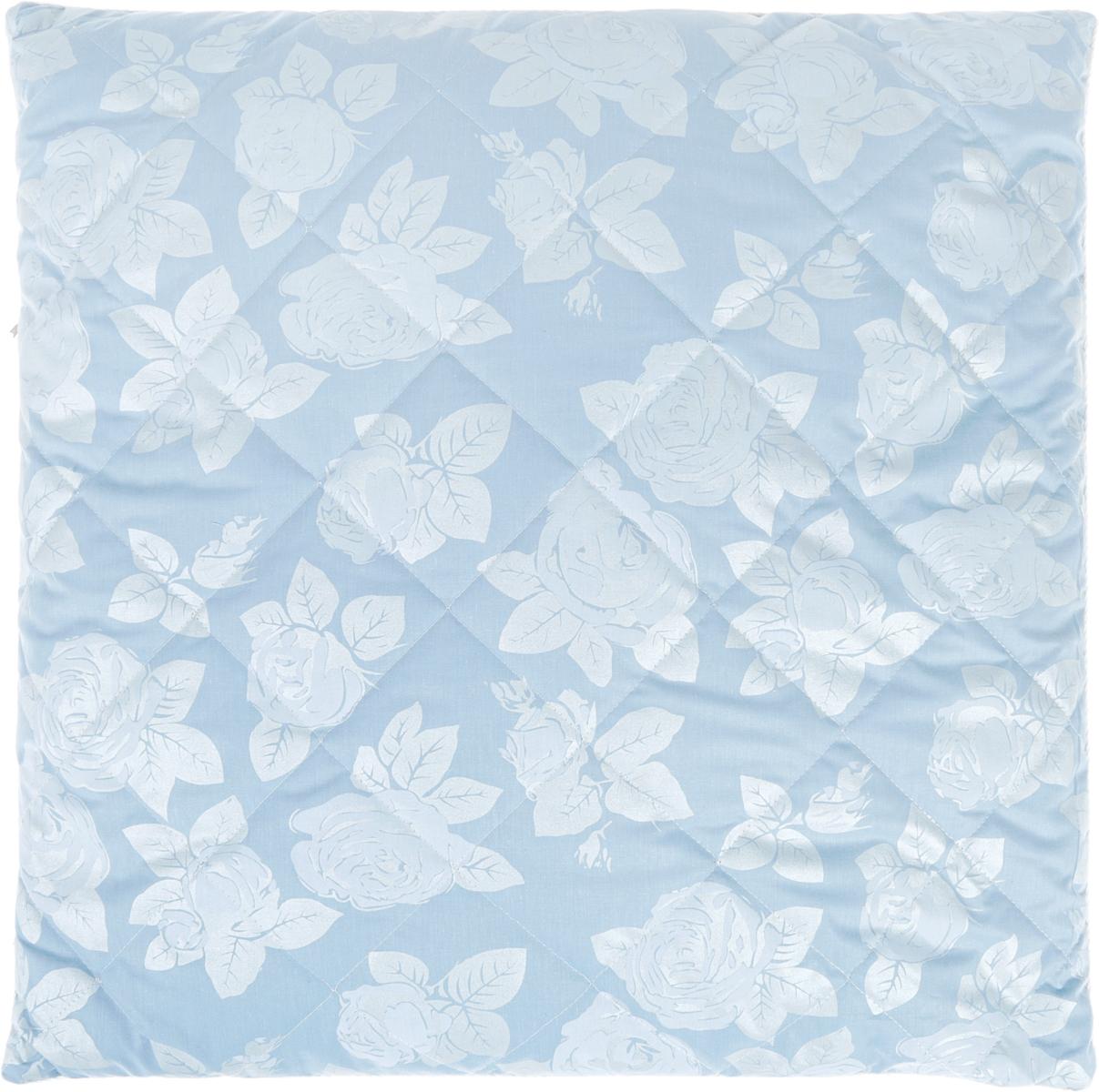 Подушка Bio-Teхtiles Сила природы, наполнитель: лузга гречихи, цвет: голубой, 70 х 70 см
