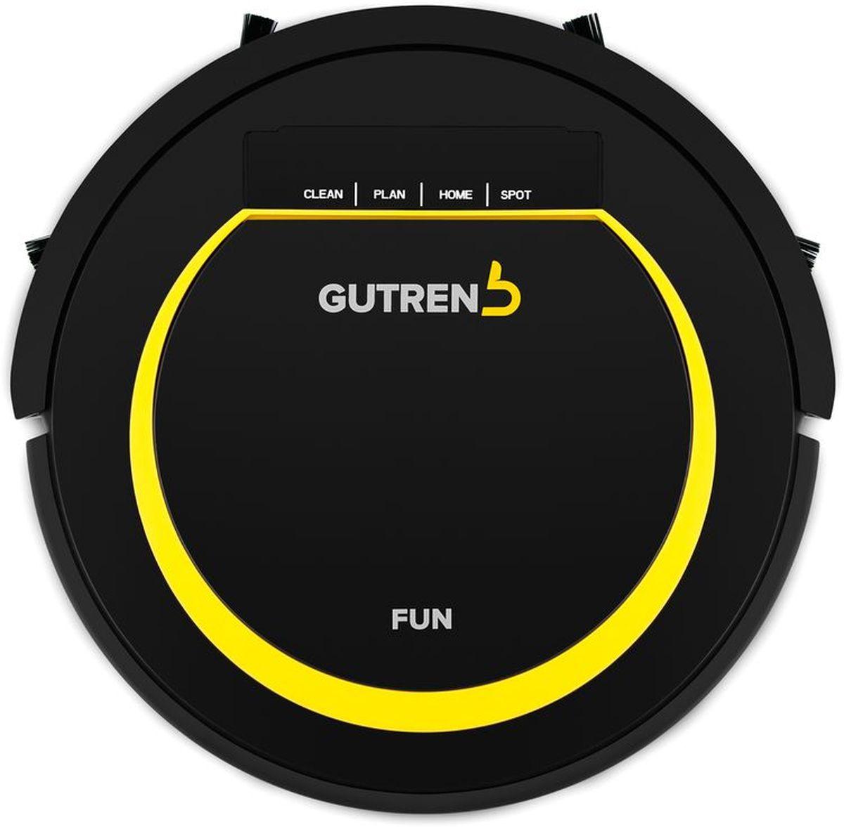 лучшая цена Робот-пылесос Gutrend Fun 120, Black Yellow