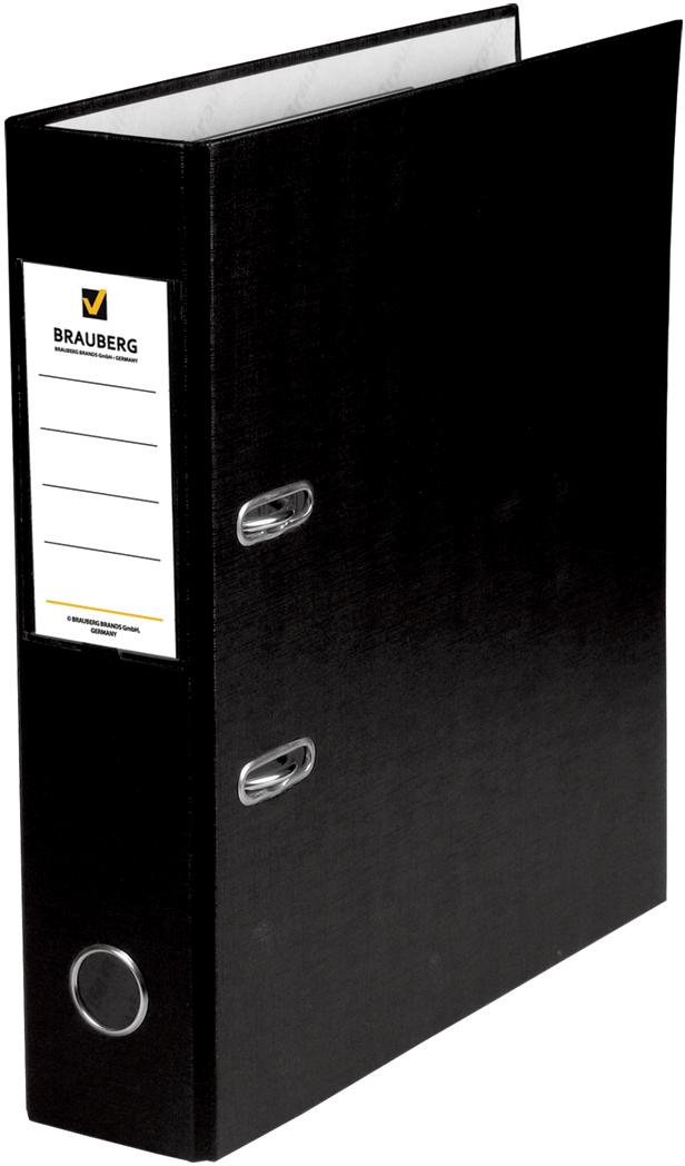 Brauberg Папка-регистратор цвет черный 220891