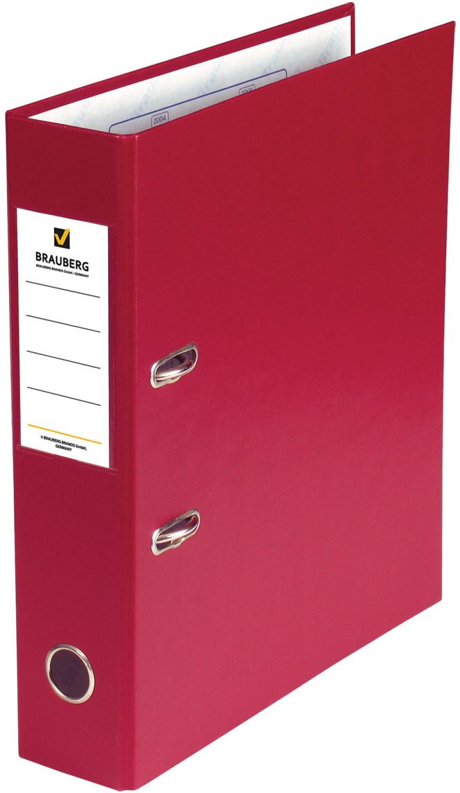 Brauberg Папка-регистратор цвет красный 220892